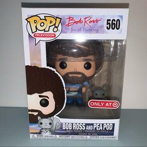 Bob Ross and Pea Pod Funko POP! 560